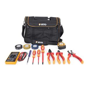 Bolsa en nylon con herramientas de electricista - 12 piezas 124b77841adb