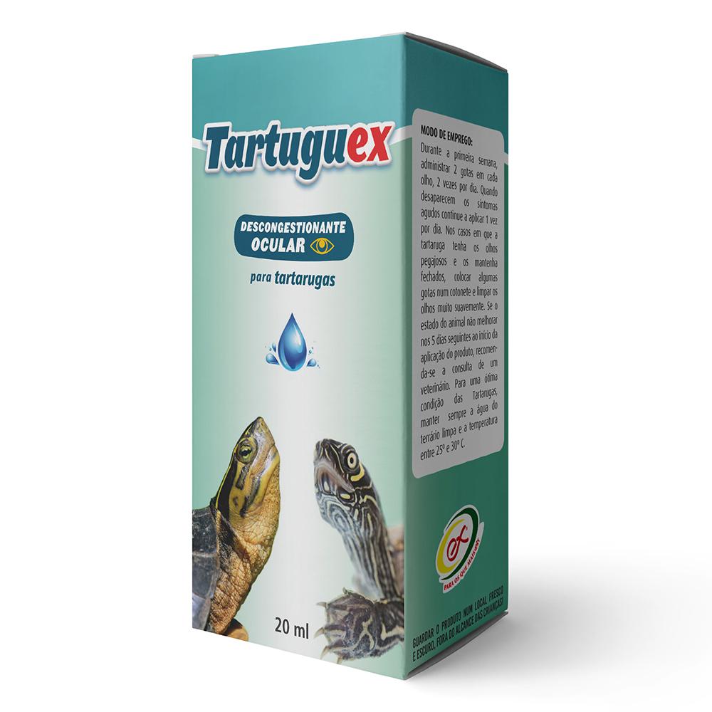 """TARTUGUEX"" DESINFECTANTE OCULAR 40ML"