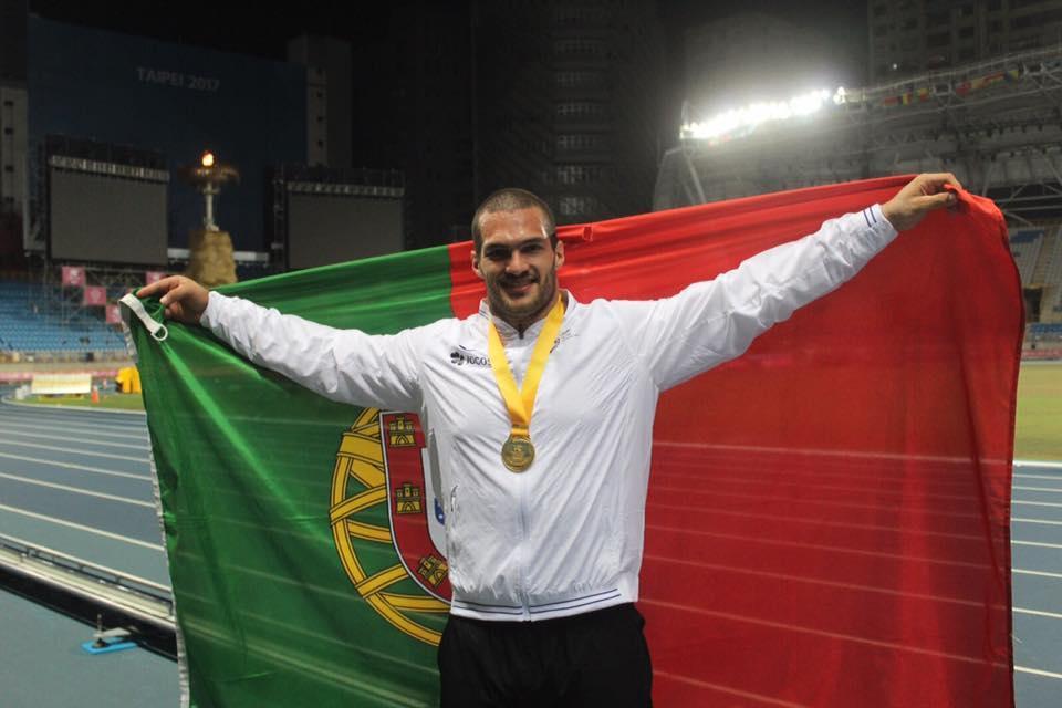 Rui Bragança conquistou prata em Taipé