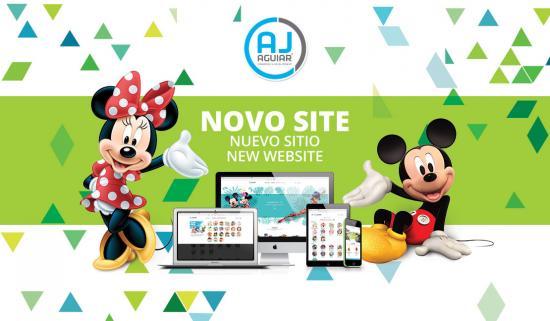 Novo Site AJ Aguiar