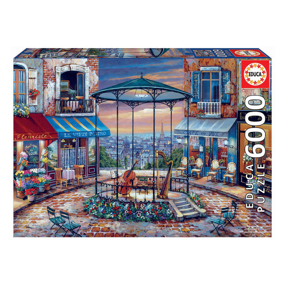 Puzzle 6000 Night Prelude | Brinquedos, Papelaria, Moda e