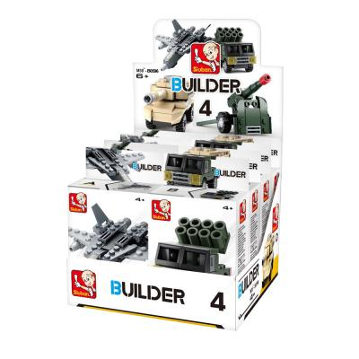 Builder DIS 8 Items Assorted
