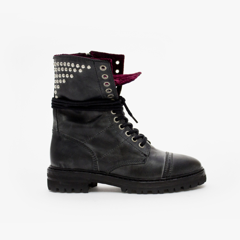 EDITION LEATHER BLACK+BORDEAUX