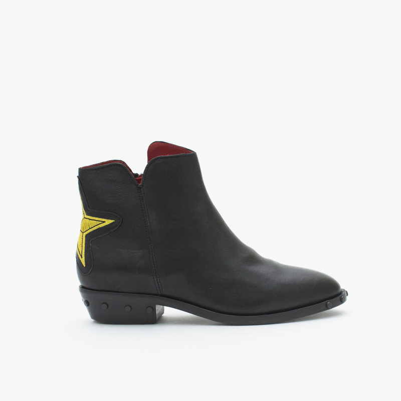OLSEN GRASSO BLACK+YELLOW