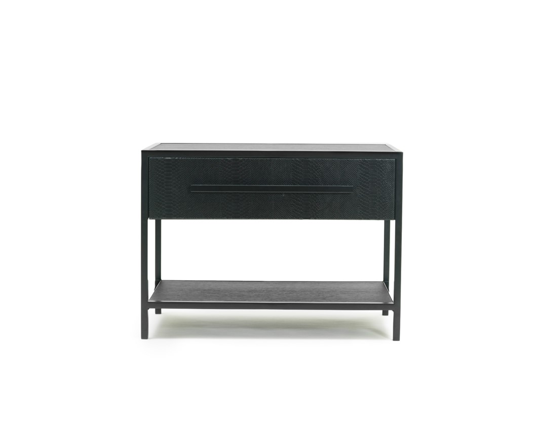 YOU SHOOK ME ALL NIGHT LONG furniture collection nightstand leather iron black Cristina Jorge de Carvalho