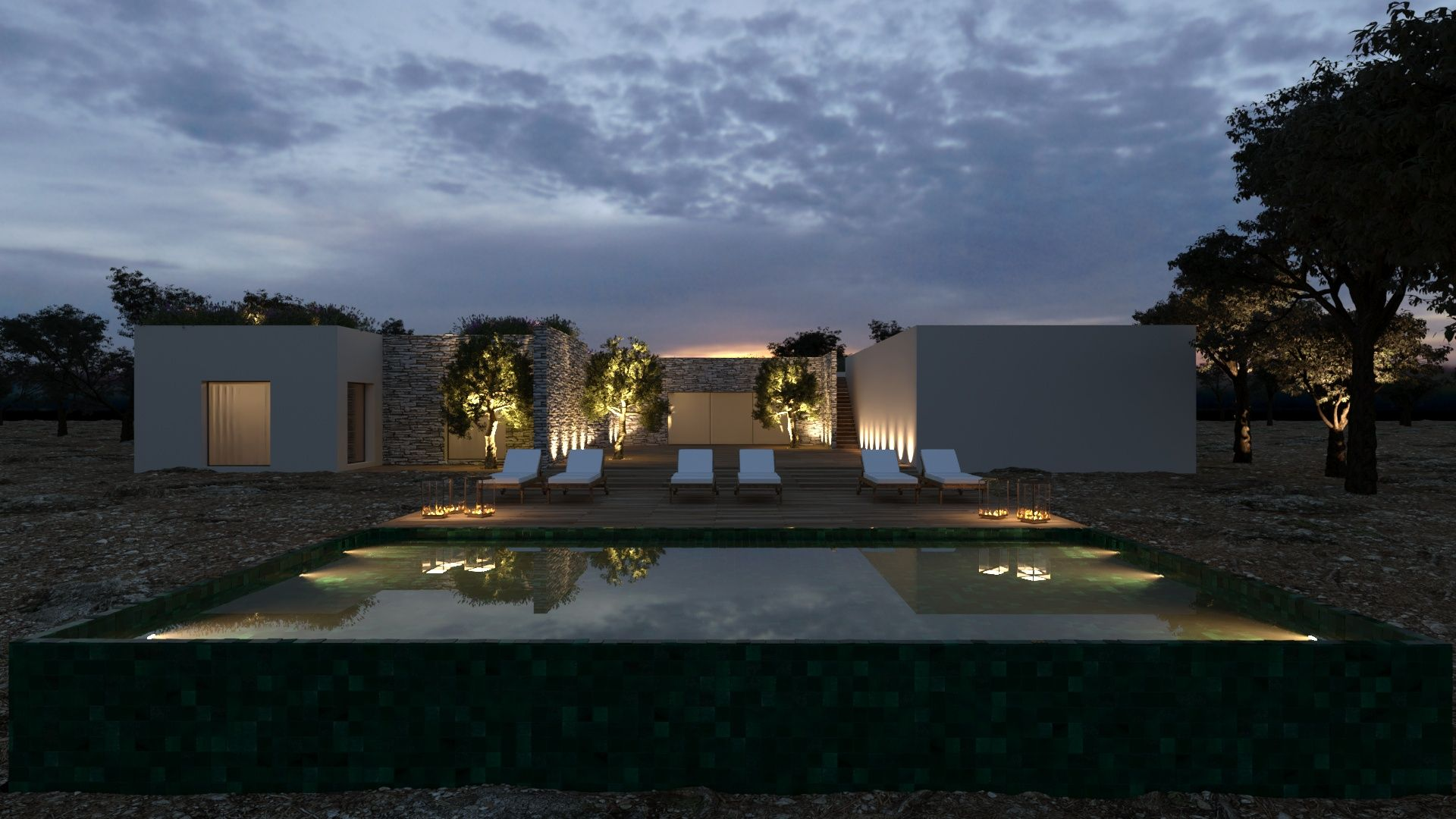 Residential project of Interior Architecture and Landscaping in Alentejo Portugal Cristina Jorge de Carvalho