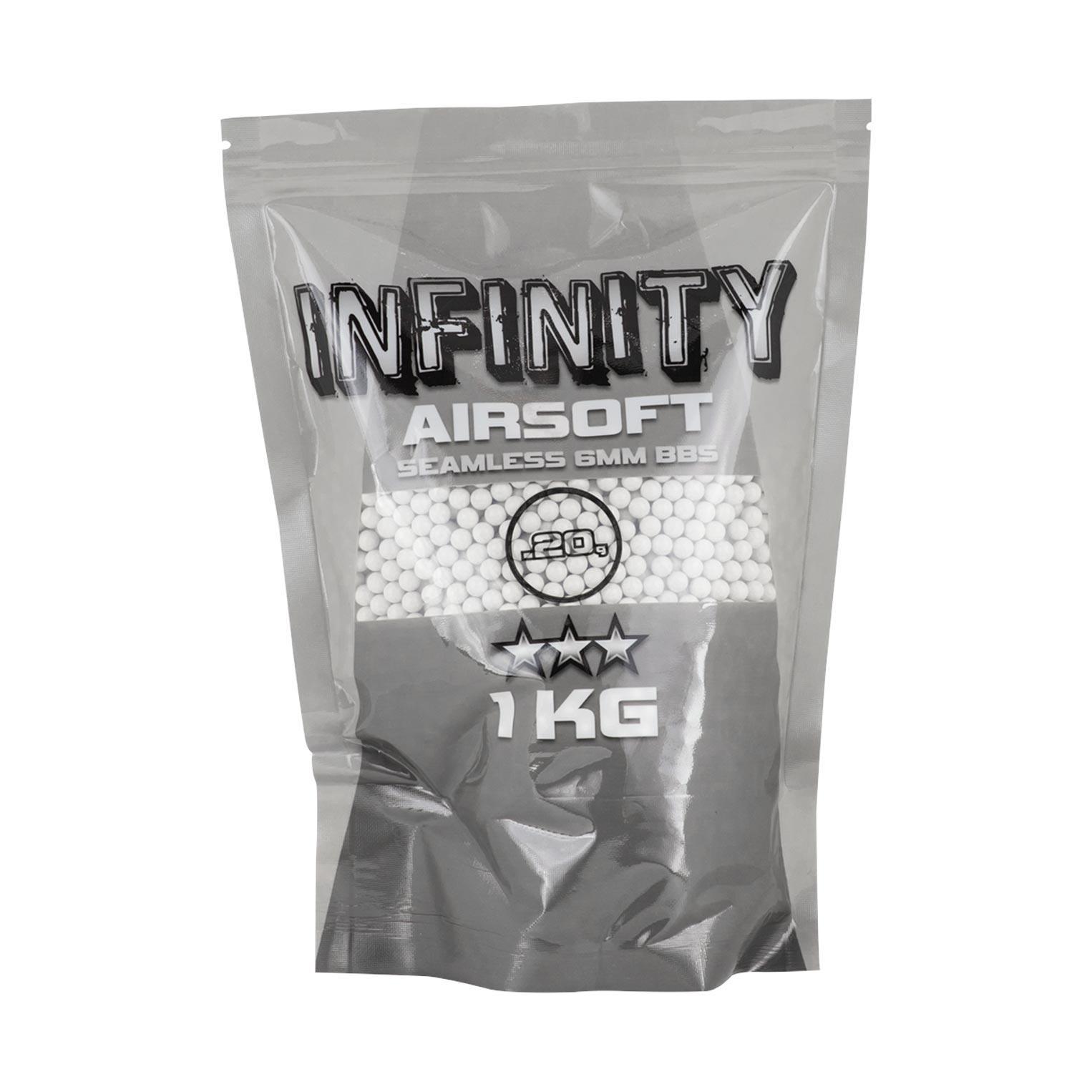 BBs Infinity 0.20g 1Kg/5000un White