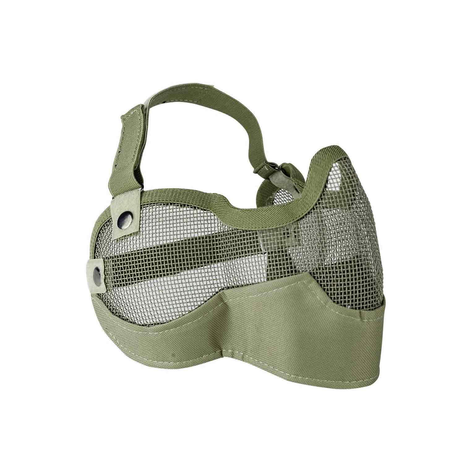 Mask V Tactical 3G Wire Mesh Tactical Green