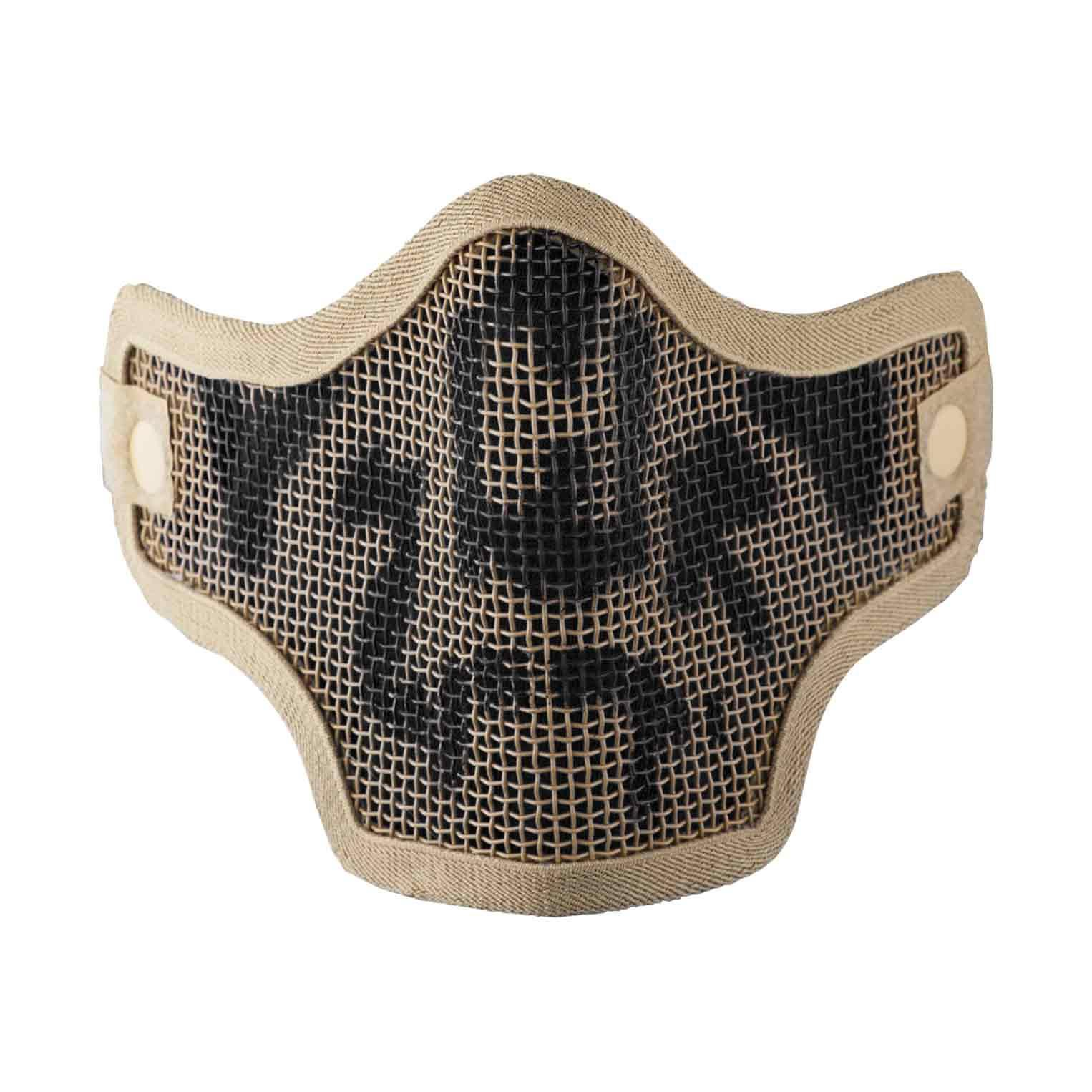 Mask V Tactical 2G Wire Mesh Tactical Tan Skull