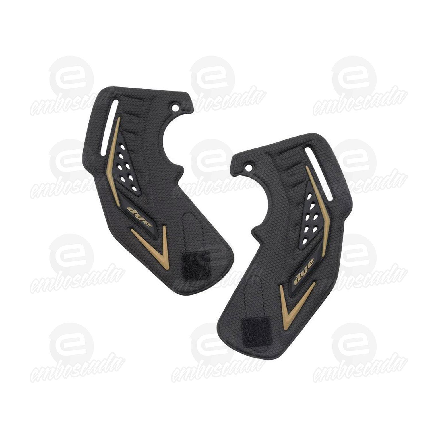 Dye Ear Piece I5 Gold Pair