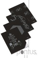 Caderno agraf. clever silver A4 40f 90g pautado