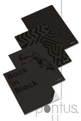 Caderno agraf. clever black A4 40f 90g pautado