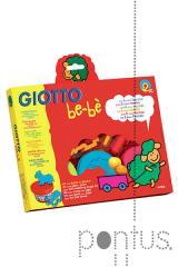 Kit p/modelar Gioto be-bè c/3 cores + acessórios