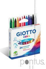 Lápis de cera Giotto c/24 cores ref.282200