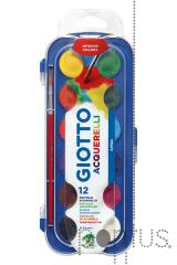 Aguarelas Giotto c/12 cores ref.331000