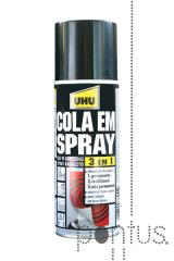 Cola UHU power spray 3 em 1 200ml