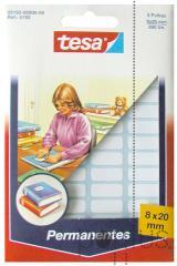 Etiquetas Tesa permanentes 5192 branco 8x20mm