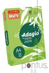 Papel Rey Adagio 80g A4 500f verde esmeral. (V-81)