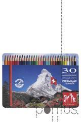 Lápis CDA Prismalo aguarelável cx. metal c/30 cor