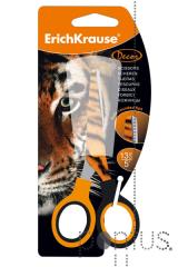Tesoura Erichkrause decor 13cm - tiger