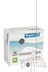 Agrafos Rapid standard nº24/6 5M