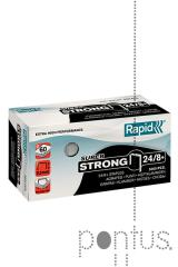 Agrafos Rapid super strong nº24/8+  5M galvaniz