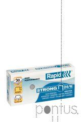 Agrafos Rapid strong nº24/6 1M galvanizado