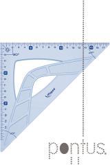 Esquadro Maped graphic 45º 26cm
