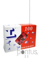 Pioneses lismania vermelho cx.100