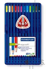 Lápis Staedtler Ergosoft c/12 cores