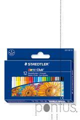 Pastel a óleo Staedtler Noris Club c/12 cores