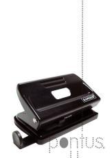 Perfurador Rapesco metálico 810 (12f) preto