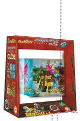 Jogo Educa magnético puzzle cube 8 Gormiti