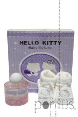 Baby set Hello Kitty bootees (eds100ml+hk bootees)