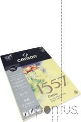 Bloco de desenho 1557 Canson A4 30f 180g