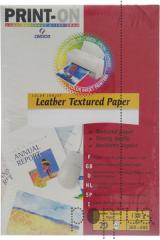 Papel Canson leather paperjet 130g 20f