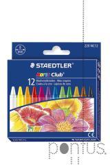 Lápis de cera Staedtler Noris Club c/12 cores