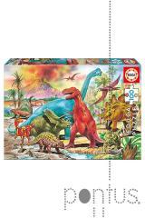 Jogo Educa puzzle Junior 100 dinossauros