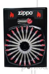 Tubo c/6 pedras zippo