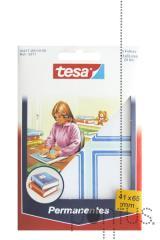Etiquetas Tesa permanentes 5217 c/esq azul 41x65mm