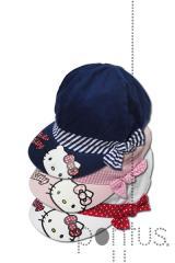 Chapéu Hello Kitty sortido c/3 cores ref.ME4005