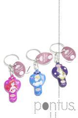 Porta-chaves Princesas ref.wd5645 em display