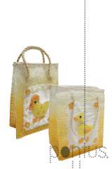 Saco 16x21 laranja - amarelo cx8