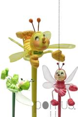 Lápis c/abelha cx.12x3 ref.7086