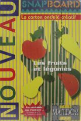 Kit snapboard 20x30cm - kit frutas / legumes