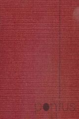 Cartolina 50x70cm canelada glitter 200g vermelho