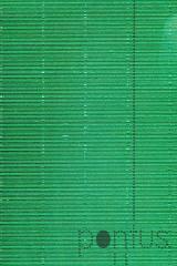 Cartolina 50x65cm canelada metalizada 230g verde