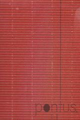 Cartolina 50x65cm canelada metalizada 230g vermel.