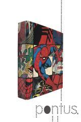Pasta arquivo Spiderman A5 2 argolas