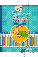 Agenda do primeiro ano do bebé
